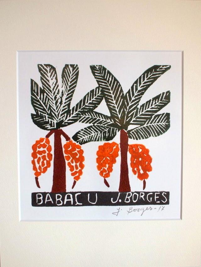 J.BORGES ジョタ・ボルジェス 木版画S 【BABA?U】