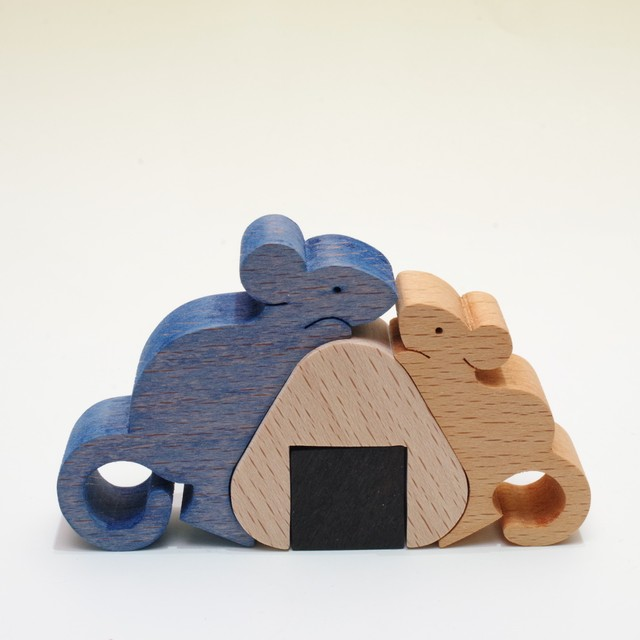 小黒三郎 ネズミのカップルとおむすび