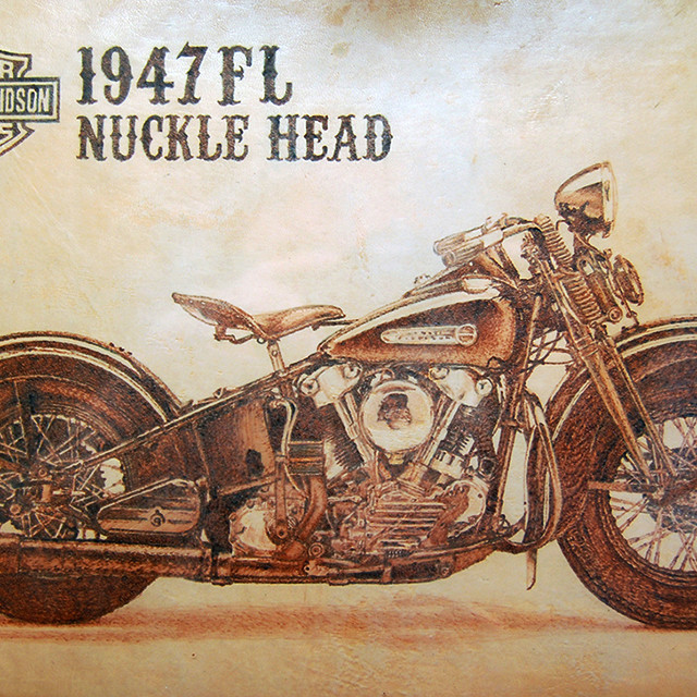 HARLEY DAVIDSON 1947FL NUCKLEHEAD
