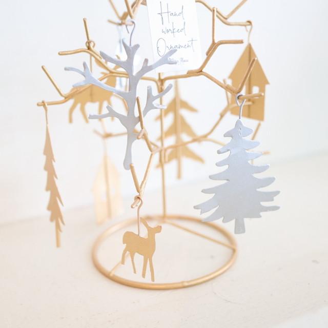 Winter tree+オーナメント10pcs
