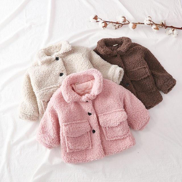 【お取り寄せ】85-125  ボアジャケット 子供 キッズ 赤ちゃん 秋冬