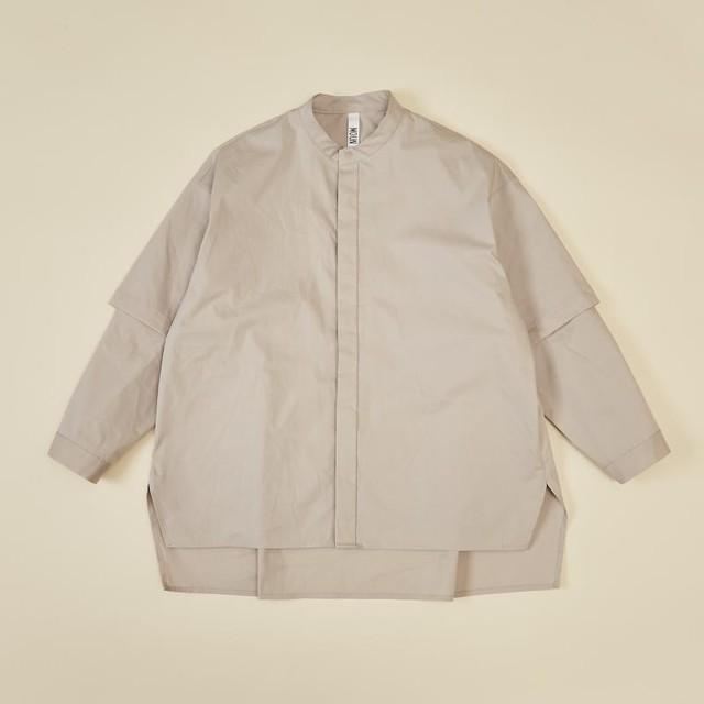 【予約】MOUN TEN. 0サイズ detachable shirts [21W-MS25-1001b] MOUNTEN.