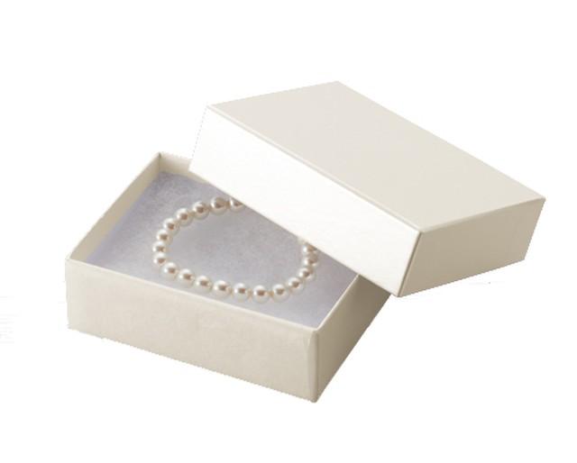 アクセサリー紙箱白綿フリーケース 新色アクセサリーボックス 10個入り AR-B88