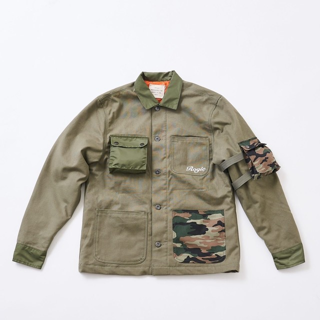 ROGIC Military Jacket  Khaki