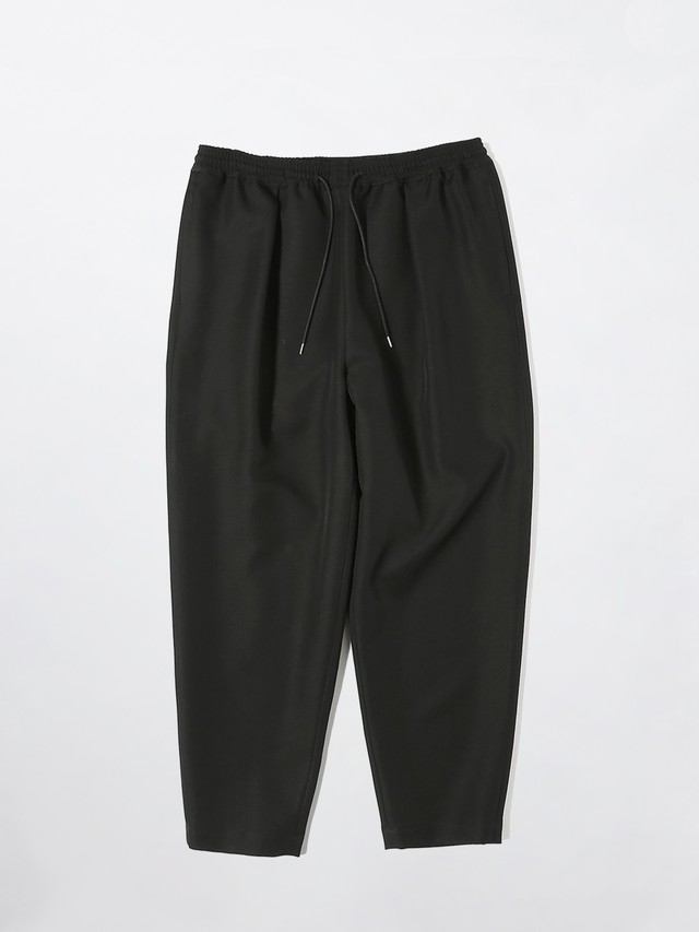 yoshiokubo TWILL TUCK PANTS Black YKS21416