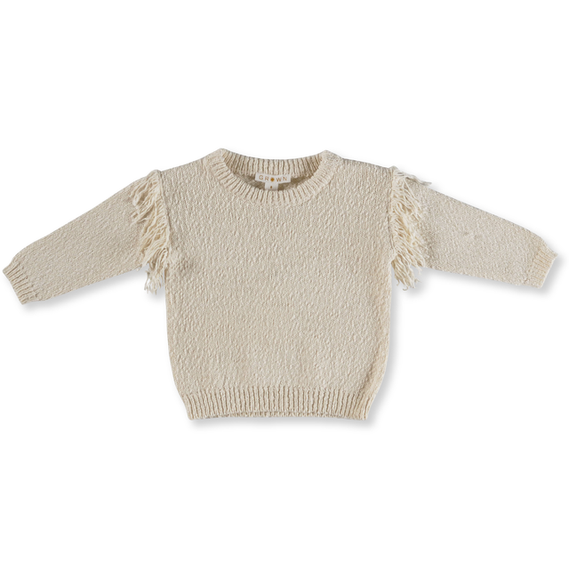 Grown / Frill Pull Over - Milk -