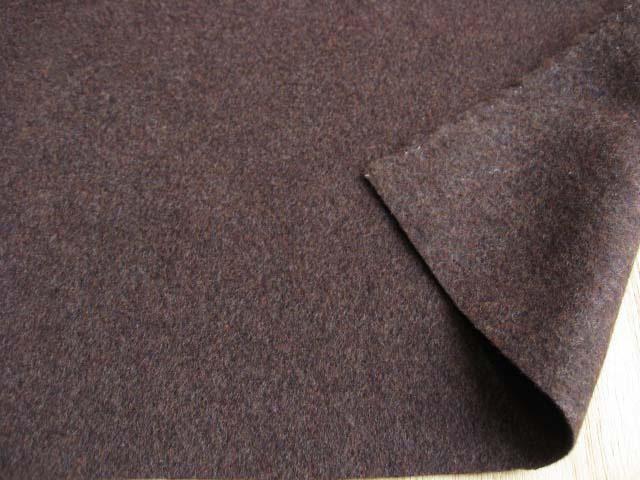 アンゴラウール混ビーバー(弱起毛) チョコブラウン  UR-0115