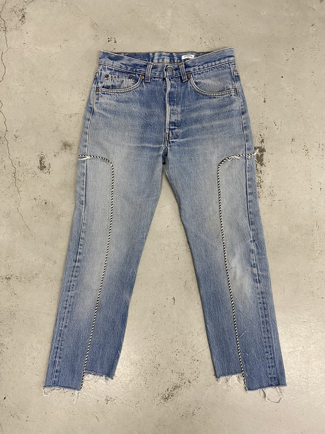 OLDPARK / WESTERN JEANS(IND,Sサイズ)