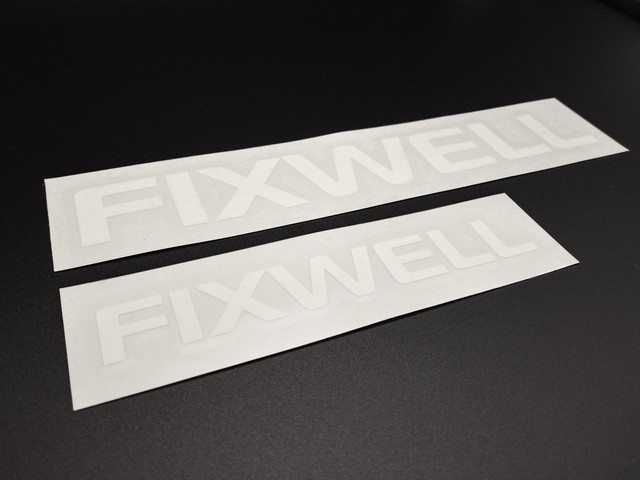 Decal - Common [Small] - FIXWELL