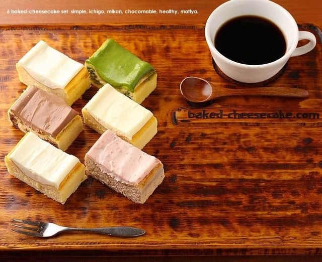 ベイクドチーズケーキ6種アソートセット