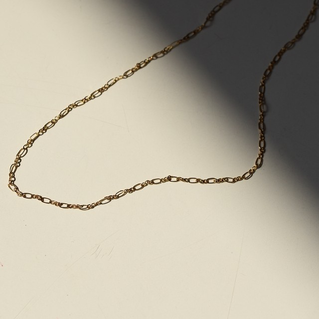 Sparkle tiny chain choker