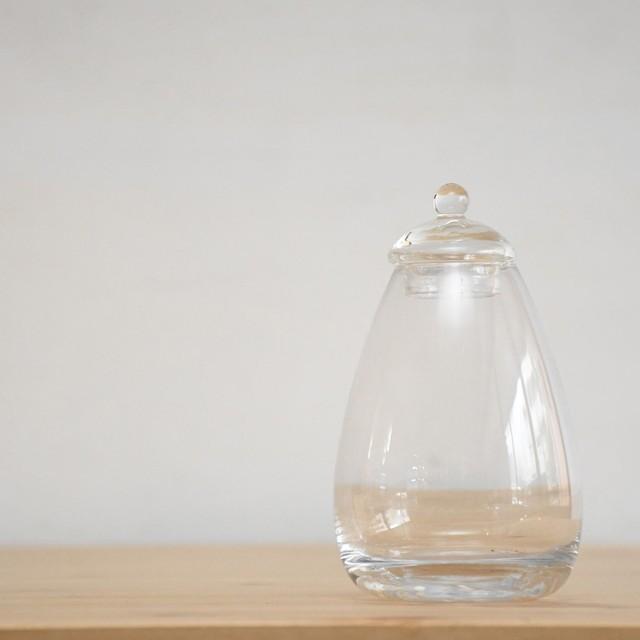 【ガラス容器】タマゴ瓶(80xh130mm)