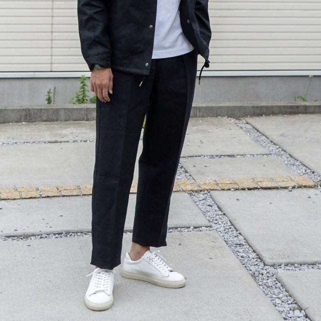 COLONY CLOTHING / LINEN PERENNIAL TROUSERS / CC20-PT03(SALE)
