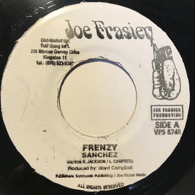 Sanchez - Frenzy【7-10844】