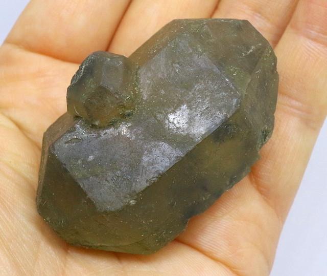 ハンクス石 ヘンクサイト Hanksite 岩塩 76g HS019
