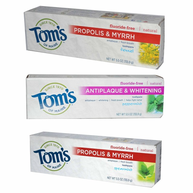 フッ素不使用★Tom's歯磨き粉