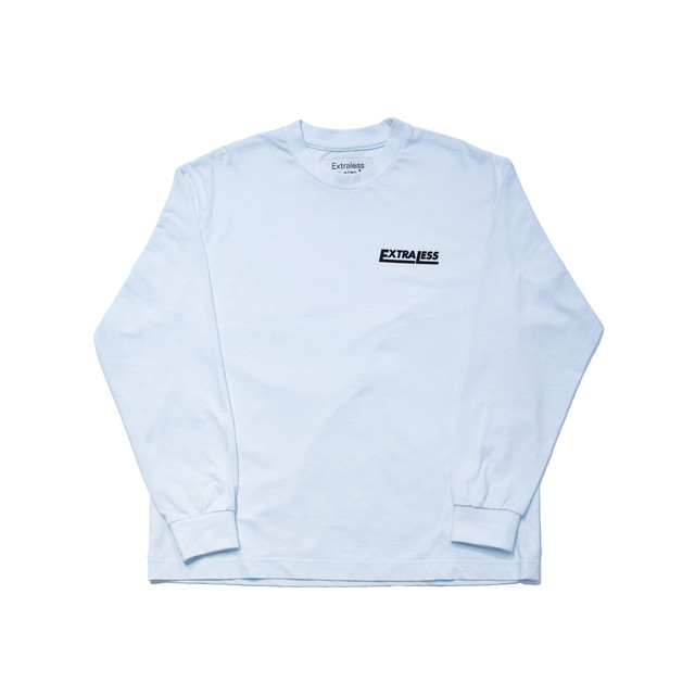 EXTRALESS L/S Tee EXTRALESS Sky Blue EX19FW0001