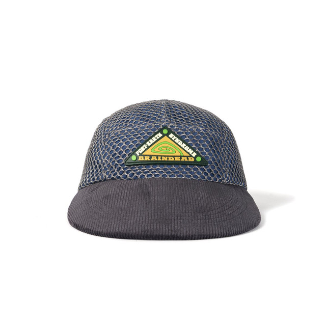 BRAIN DEAD POST EARTH SYNDROME FISHERMAN HAT - CHARCOAL MULTI