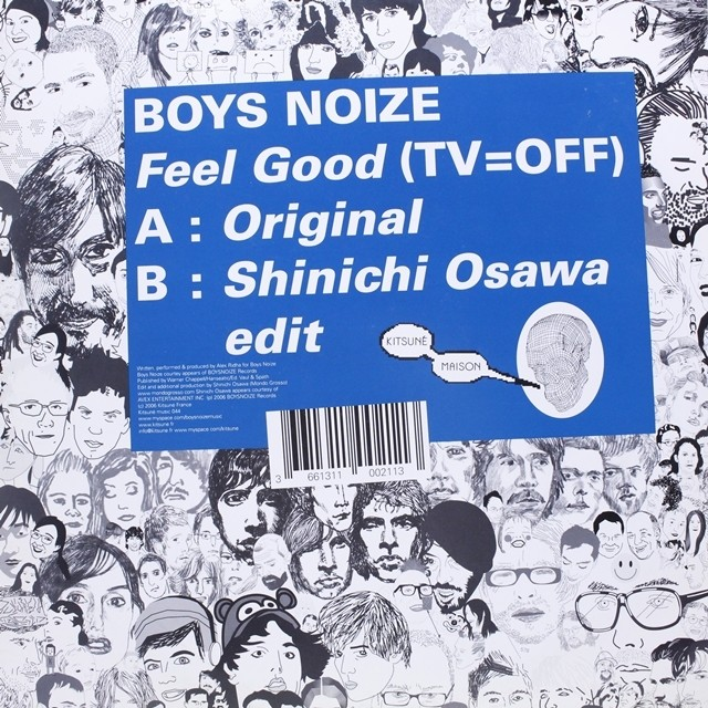 Boys Noize / Feel Good (TV=OFF) [Kitsune Music 044] - メイン画像