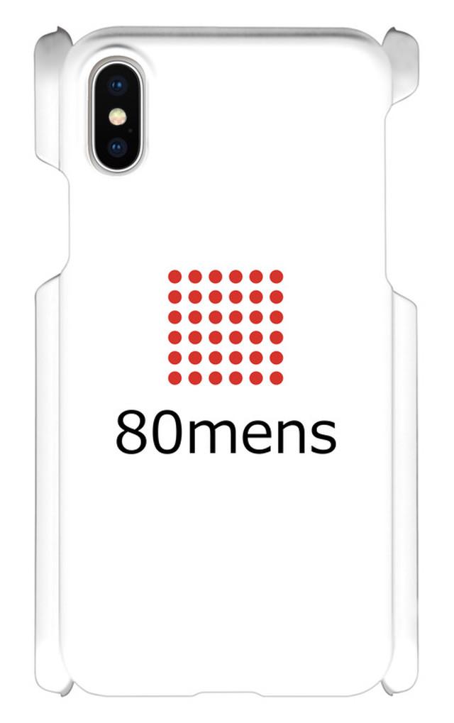 80mens スマホケース/iPhone10