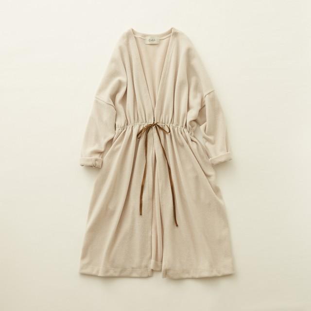 《eLfinFolk 2020AW》melange gown / ecru / F(大人)