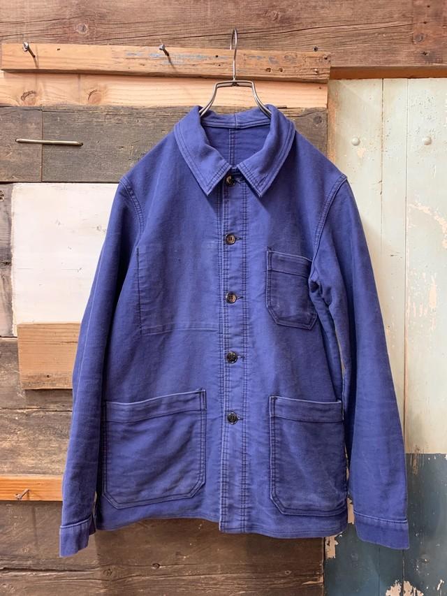60's 'KONECO' French Moleskin Work Jacket