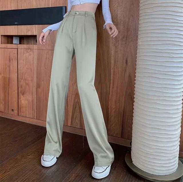 silky color pants 4color