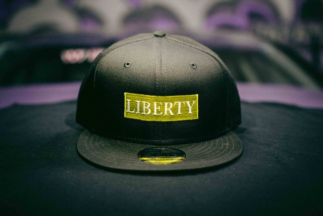 LIBERTY  CAP NEW ERA イエロー