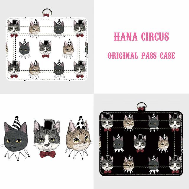 HANA circus original 缶バッジ 3個セット 猫目セット&はちわれ+きじとら+黒猫セット 猫