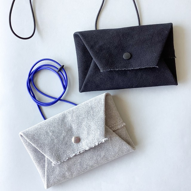 how to live - Long Wallet ロングウォレット - Topgray Blue / Black Black