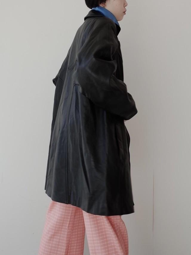 used leather coat