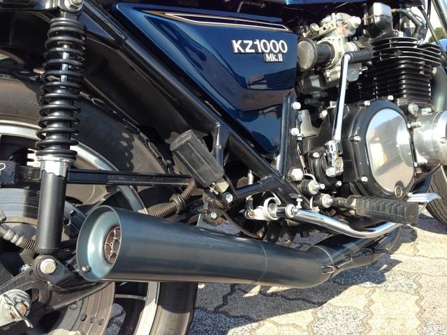 レースクラフターズ KZ1000 MarkⅡ用 機械曲げ フルエキゾーストシステム(NGC製)