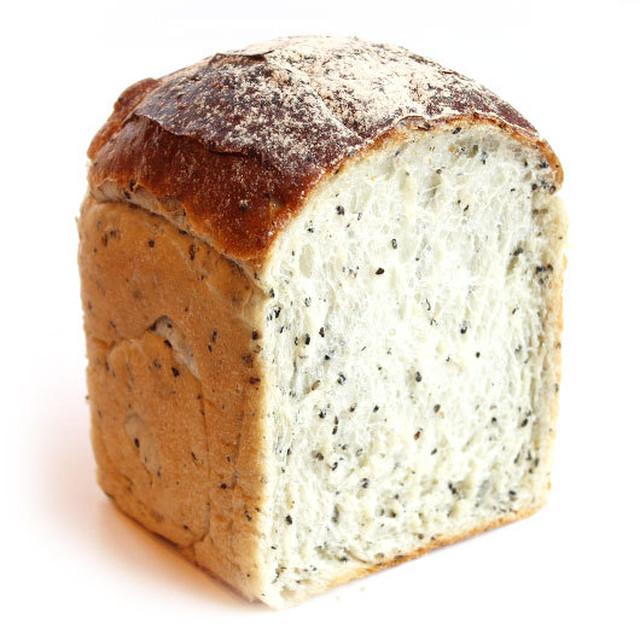 有機発芽玄米食パン 有機黒ゴマ1山 0.75斤