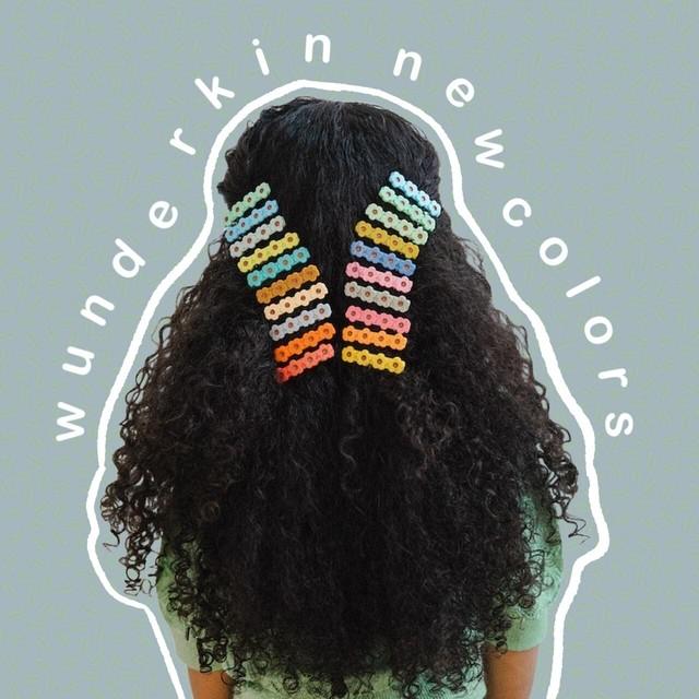 «即納» Wunderkin co Flower clips made in France フラワーヘアクリップ