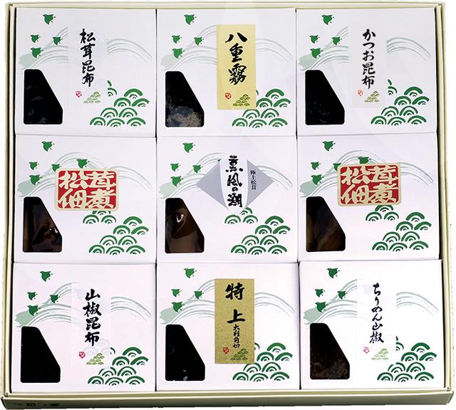 KN-100 松茸佃煮詰合せ(9品) - メイン画像