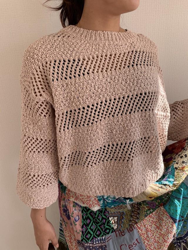 セーター :beige