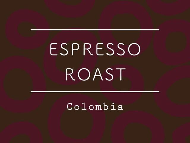 【100g】コロンビア /  Cauca Inza ESPRESSO
