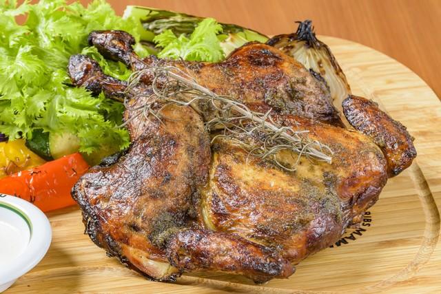 ★単品★平飼い地鶏丸焼き (約650g)