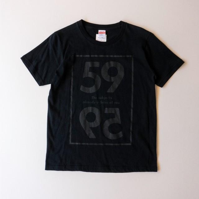 Tシャツ ブラック(T00005-01)