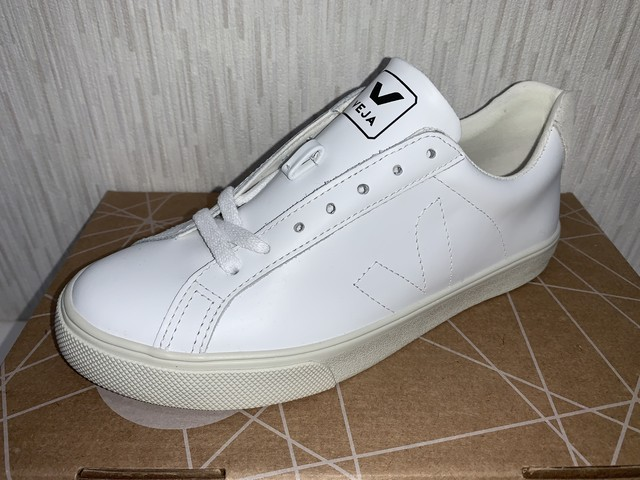 VEJA(D) ESPLAR LOW LEATHER EXTRA  WHITE :22cm 20%OFF