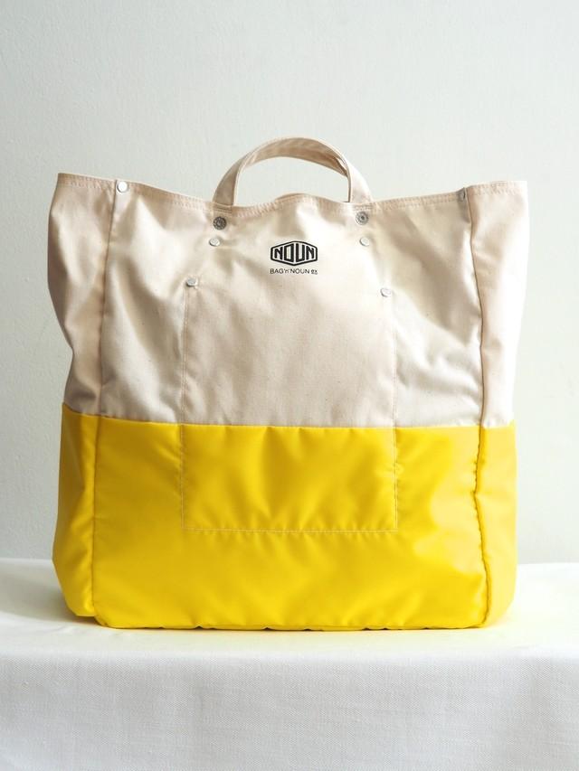 BAG'n'NOUN Lined Tool Bag White × Lemon,White × Gray