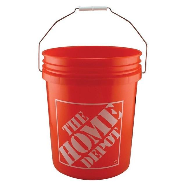 HOMEDEPOT【ホームデポ】5ガロンバケット マルチバケツ MADE IN USA Homer Bucket