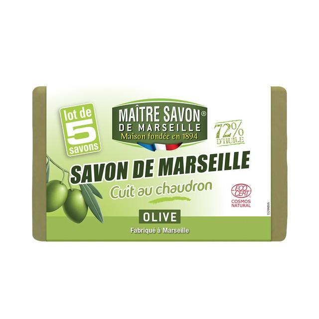 サボン・ド・マルセイユ オリーブ 100g×5