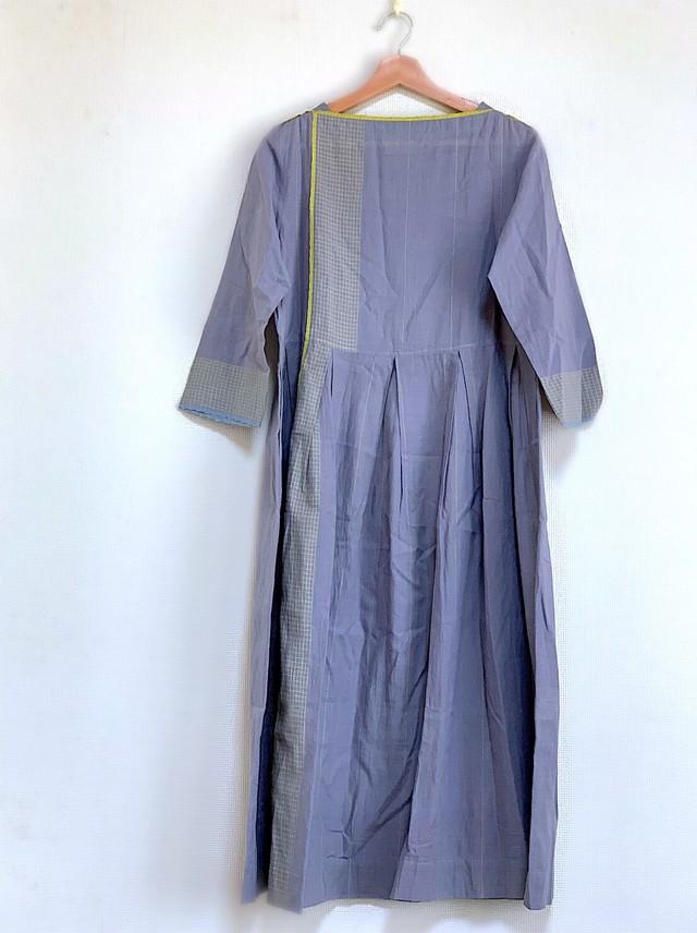格子ドレス