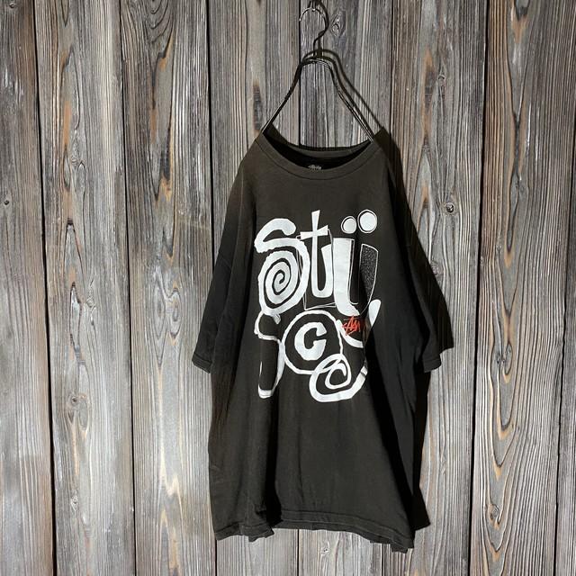 [stussy]vintage pop design T shirt