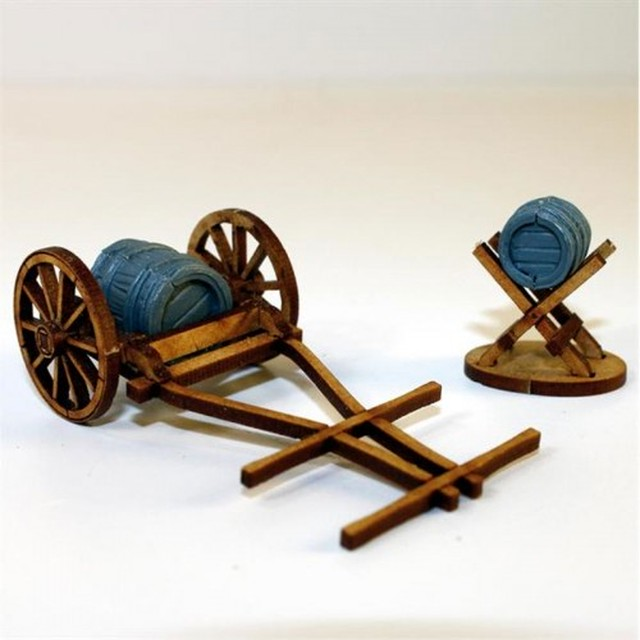 【予約発注】 Water Cart, Jack & Barrels 28-CAW-304