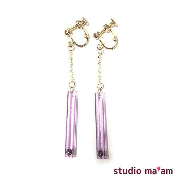■KASAMATSU-02 swingイヤリング 〜ピアス変更可〜