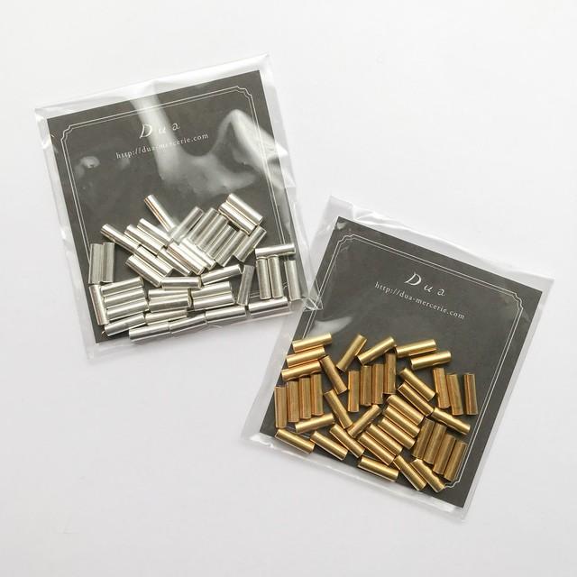 インド真鍮竹ビーズパック(10mm/40p)