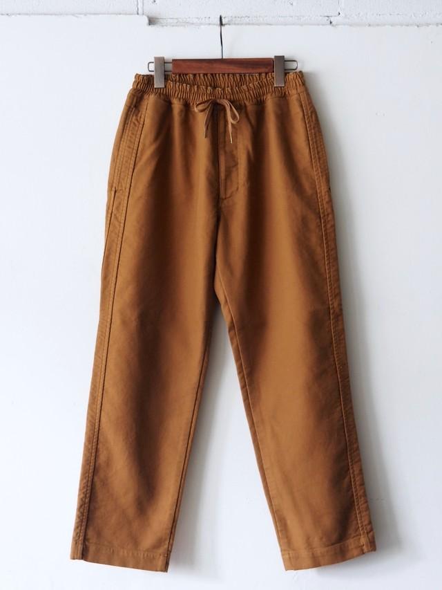 FUJITO Twill Easy Pants Camel,Navy