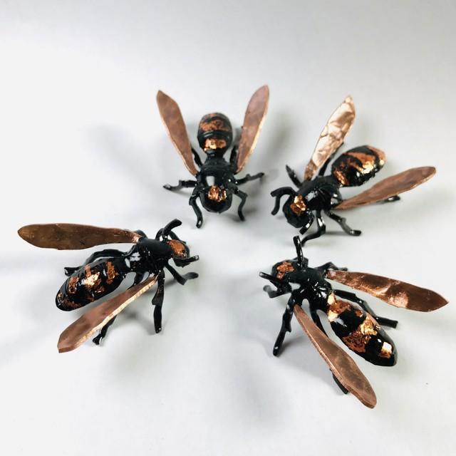 【たがや】 「スズメバチ」